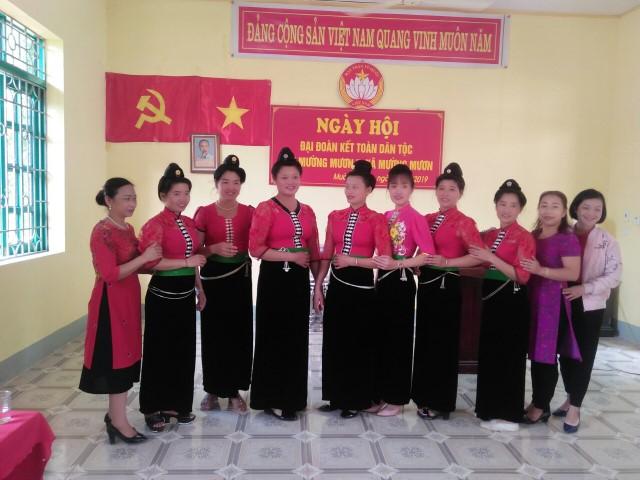 Mường Mươn tổ chức điểm Ngày hội Đại đoàn kết toàn dân tộc