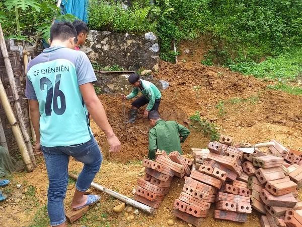 """Tuổi trẻ xã Mường Mươn, huyện Mường Chà xung kích """"chung tay xây dựng nông thôn mới"""""""