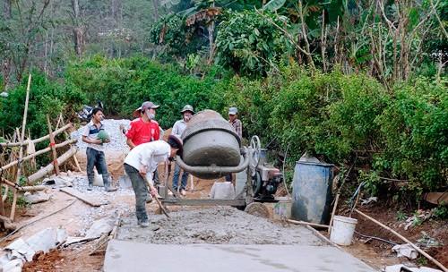Hiệu quả trong xây dựng nông thôn mới ở Mường Chà